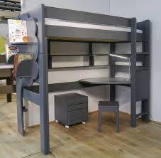 bureau surélevé bureau en bois contemporain d angle pour enfant dominique