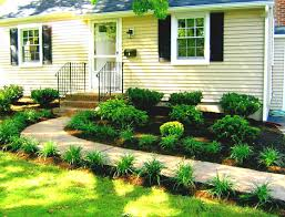 Landscape Ideas For Small Gardens by Garden Design With Small Front Designs Easy Landscaping Ideas For