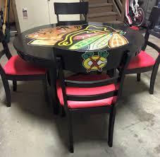 garage table and chairs blackhawk table and chairs selling at garage sale 450 00 obo