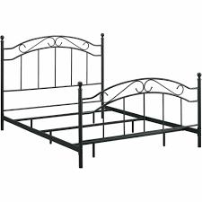 queen size metal bed frame target iron frames ikea home depot