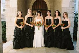 red and black bridesmaid dresses new wedding ideas trends