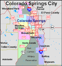 el paso zip code map colorado springs zip code map printable zip code map