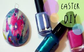 Decorating Easter Eggs With Nail Polish by Nail Polish Water Marble Easter Eggs Decorations Diy By Art Tv