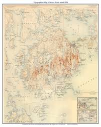 Topographic Map Of Michigan by Admin Old Maps Blog
