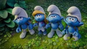 clumsy smurfs smurfette hefty smurfs brainy smurfs movie