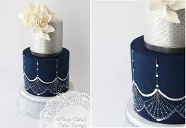 navy wedding cakes vintage u0026 comtemporary cake geek magazine