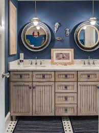 furniture nautical bathroom decoration with shabby chic style