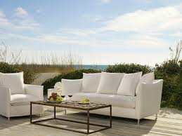 Lee Industries Swivel Chair Agave Outdoor Slipcovered Sofa Villa Vici Contemporary Furniture