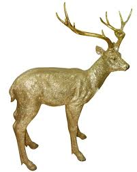 gold deer statue large only 199 99 at garden