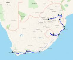 Aa Route Map The Travel Wise Holiday Club U201411 Day Classic Highlights Tour