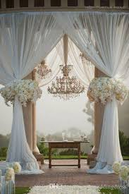wedding backdrop tulle tulle wedding decorations chair covers sashes backdrops wedding