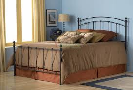 sanford bed metal bed w matte black finish by fashion bed group