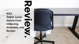 Snille Swivel Chair Ikea örfjäll Junior Swivel Chair Unboxing Assembly And Review