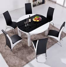 6 person round dining table what is the advantage of portable