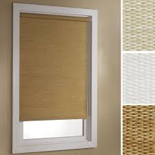 deluxe woven paper roller shade