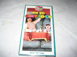 comfy couch opening to the big comfy couch feast of fools 1994 vhs