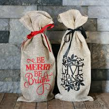 Shabby Chic Gift Bags by Best 20 Wine Gift Bags Ideas On Pinterest Wine Bags Occasion