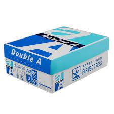paper ream box a a3 white copy paper 3 reams auslim stationery
