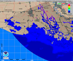 Weather Map Louisiana by Tropical Weather