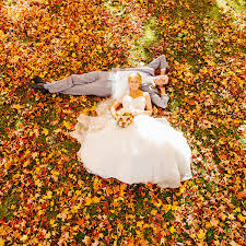 fall wedding 50 gorgeous fall wedding photos bridalguide