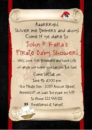 ahoy pirate baby shower invitation by denisesdesignstudio on etsy