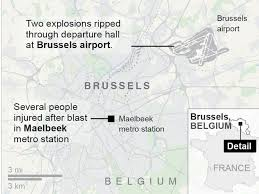 belgium subway map brussels attacks manhunt underway as claims responsibility