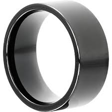 gunmetal wedding band unique metallic gunmetal grey tungsten wedding bands black
