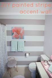 painting ideas for bathroom walls best 25 striped bathroom walls ideas on pinterest gold striped