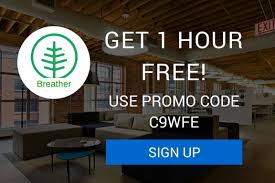Office Furniture Promo Code by Breather Promo Code 1 Hour Free At Any Breather Office