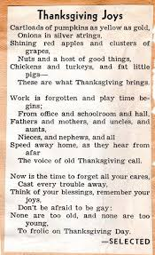 thanksgiving poems braman s wanderings