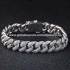 men jewelry bracelet images China hip hop cz bracelet cuban chain bracelets for men from jpg