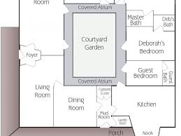style house plans with courtyard style house plans with interior courtyard ff