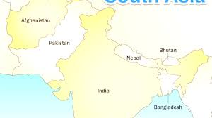 Asia Political Map South Asia Countries Capitals Throughout South Asia Political Map