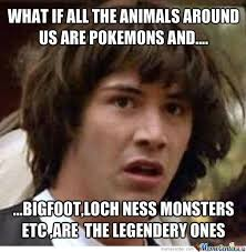 All Your Base Meme - what if all the animals around us are pokemons by trollloool