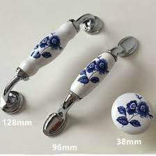 White Porcelain Cabinet Knobs Discount Blue White Ceramic Cabinet Knobs 2017 Blue White