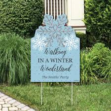 winter wonderland party decorations snowflake holiday party