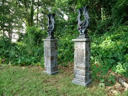 cemetery entrance columns set u201cnew for 2014 u2033 evilsoulstudios com