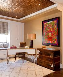 los angeles ceiling tiles home desk office traditional with brown