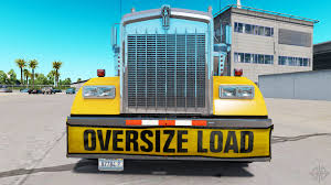 kenworth truck bumpers bumper oversize load for the kenworth w900 for american truck
