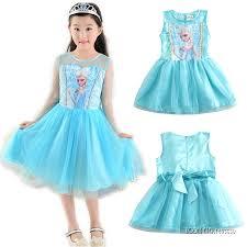 buy elsa frozen fever deluxe costume for girls online get cheap
