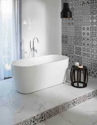 bathroom feature wall ideas stylehunter collective home style ideas decorating in black white