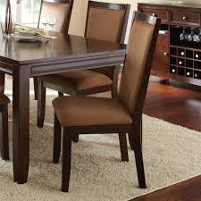steve silver cornell 7 piece rectangular dining room set in rich