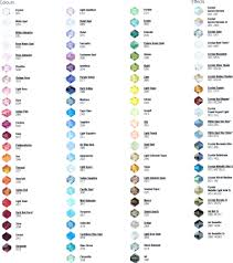Color Meanings Chart by Color Chart Jewelry Ideas Pinterest Colour Chart Beads And