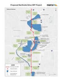 Atlanta Subway Map by Marta Fantasy Subway System Expansion Transit Map Unofficial A