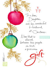 christmas ornaments daughter christmas card cardstore