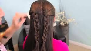 tutorial kepang rambut frozen gaya model rambut kepang berbentuk cinta love cute hair youtube