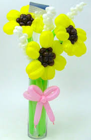 balloon bouquet sunflower balloon bouquet balloon animals palm