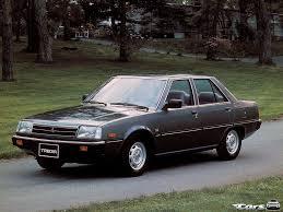 mitsubishi cordia автомобиль mitsubishi tredia все модификации и их характеристики