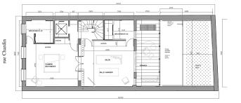 plan d une chambre d hotel atelier d architecture castellani 2010