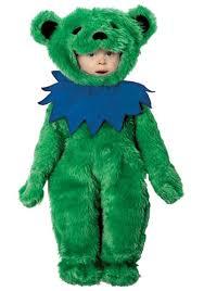 Dead Biker Halloween Costume Chubby Baby Cute Bear Suit Explode Babies